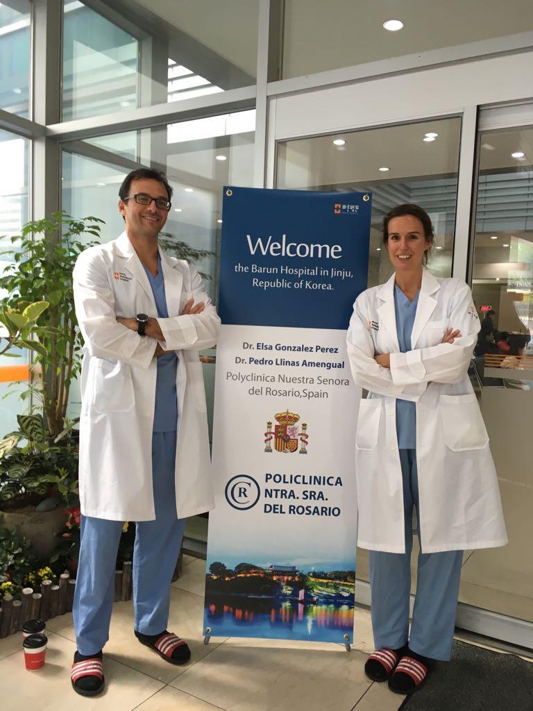 Entrevista a los neurocirijanos Elsa González y Pedro Llinás, de la Policlínina Nuestra Señora del Rosario de Ibiza